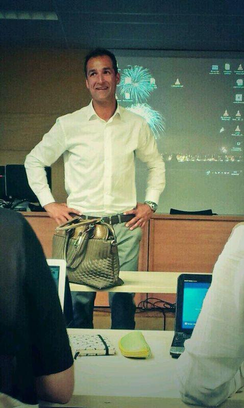 Tomás Jofresa en la universidad