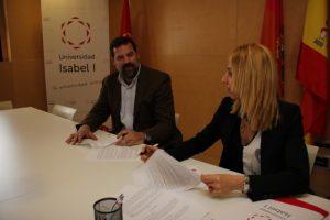Acuerdo con Universidad Isabel I Foto: Universidad Isabel I