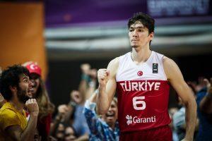 Osman en el Eurobasket